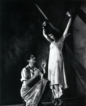 A Woman Being Tortured