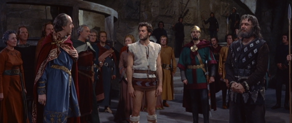 Image result for the vikings movie 1958 tony curtis in shorts