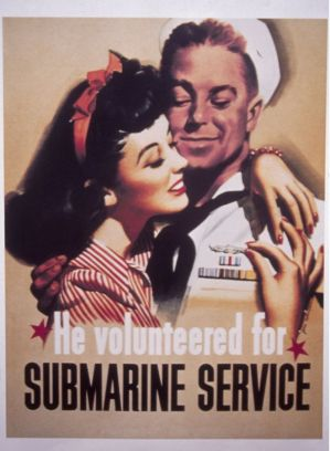 He Volunteered for Submarine Service