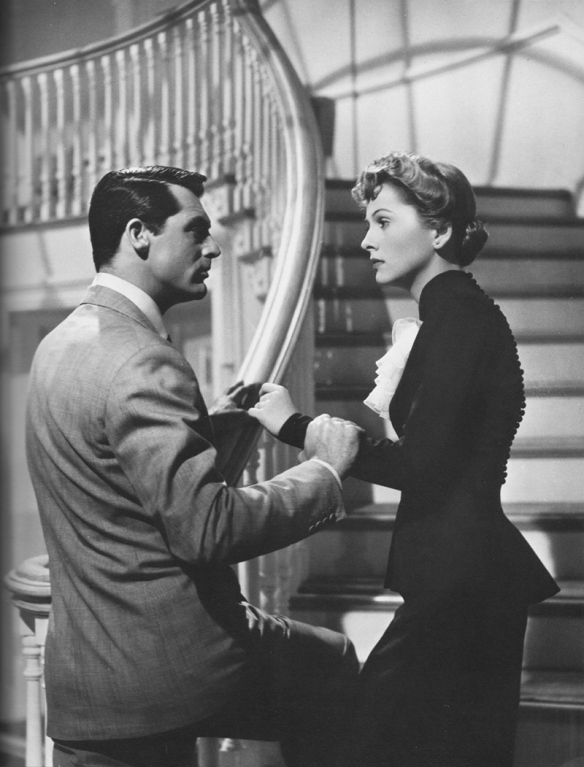 Cary Grant and Joan Fontaine in Suspicion, 1941
