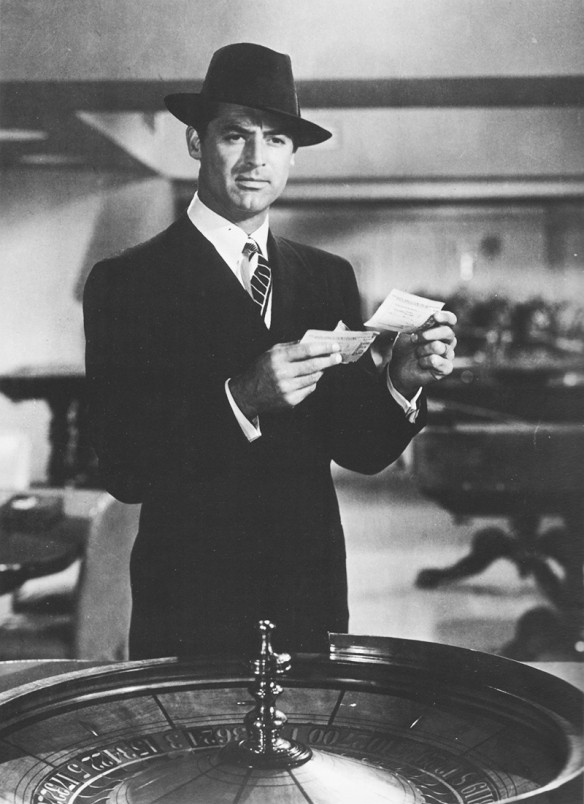 Cary Grant in Mr. Lucky, 1943