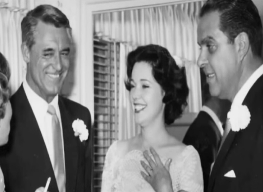 Image result for cary grant cubby broccoli wedding